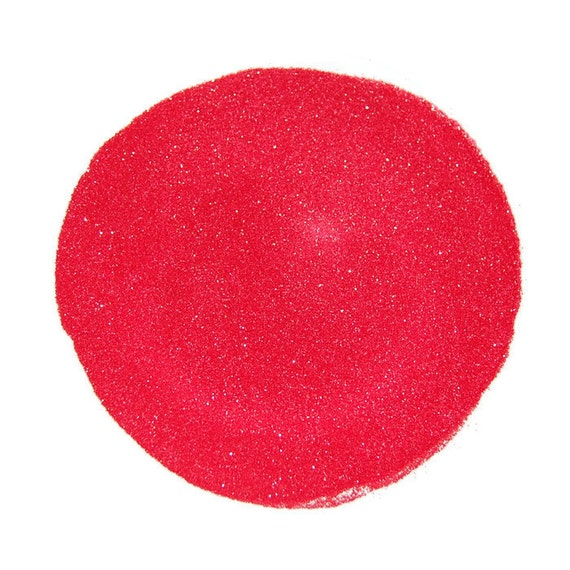 Ultrafine Coral SOLVENT RESISTANT Sparkle Glitter 0.008 Hex