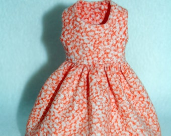 Orange Dress for Blythe -  A4B051