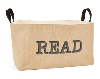 Read Large Storage Basket