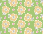 Bake Sale C3430 Green of Lori Holt by Bee In My Bonnet for Riley Blake/Fabric by the Yard/Fabric by The Half Yard/Fat Quarter/PRICES VARY