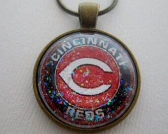 Cincinnati Reds Star Girl Necklace