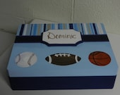Keepsake Box/ Sports Theme/Baseball
