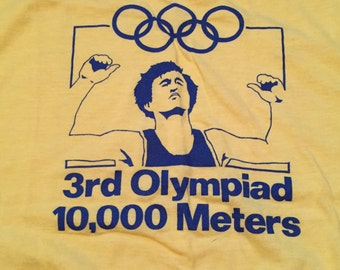 Vintage 10,000 Meters Olympic 10K T-Shirt