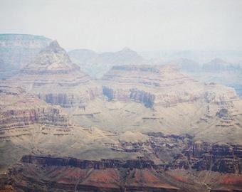 Grand Canyon Photography Print 12x18 Fine Art Arizona Red Rock Desert Rustic Mountains Wilderness Spring Landscape Photography Print.