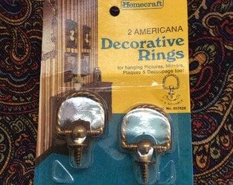 Sale 4.00 orig. 6.00 Vintage Decorative Rings