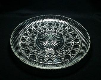 Serving platter, Windsor by Federal Glass
