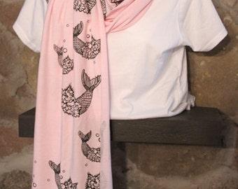 Mercat bamboo jersey scarf
