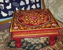 Unique Hand Painted Stool Related Items Etsy