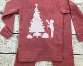 Christmas Pajamas, Holiday Pajamas, Christmas pj for boy, Girls Christmas pajama, pajama set, Children's Christmas pajama, kid's pajama