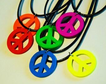 Peace Sign Chokers
