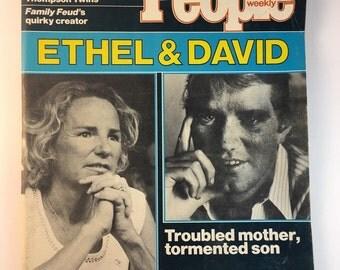 Ethel and David / May 14 1984 / People Weekly Magazine