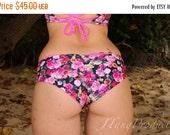 30% Off Sale This Weekend Wailea: REVERSIBLE Scrunch Butt Bikini Hipster Bikini Bottoms - Create your Own