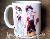 """Dos Fridas """"Imagine Her"""" Mug"""