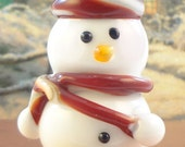 Jolly Holiday Snowman Bead
