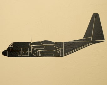 C130 Detailed - Wall Decal