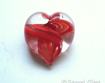 Heart Paperweight Red : DISASTER RELIEF