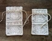 Bag, Lace gift bag, Wedding favor bag