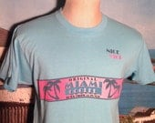 1980's Miami Cooler t-shirt, soft, fits like a medium