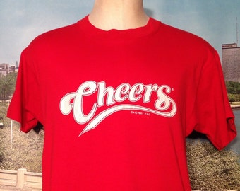 1980's Cheers t-shirt, large