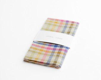 Playful men's pocket square
