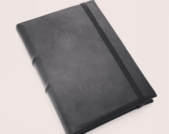 Black Leather A5 Journal