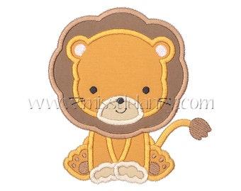 Lion Applique Design