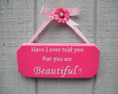 Personalized, Hand Painted, Hanging Signs