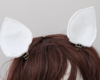 Rarity My Little Pony Clip On Ears - Pony Clips - my little pony accessories - Rarity Ears Clip