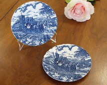 "Two Myott Royal Mail Dessert Plates 6.75"" Made in England"
