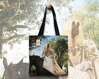 Afghan Hound Art Tote Bag   Perfect DOG LOVER Gift for Her Gift for Him