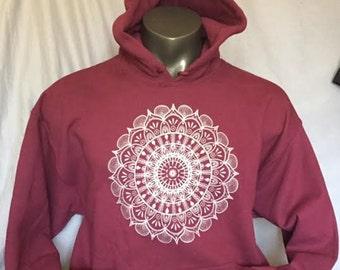 Mandala by Travis, Pullover Sweatshirt, Hoodie