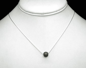 """Gibeon Meteorite on a Sterling Silver Chain, 17.5"""""""