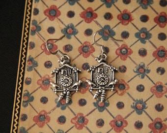 Cuckoo Clock for You Earrings