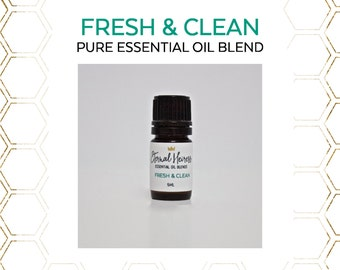Fresh and Clean Pure Essential Oil Blend 5 mL