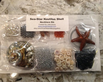 Sea-Star Shell Pendant Kit