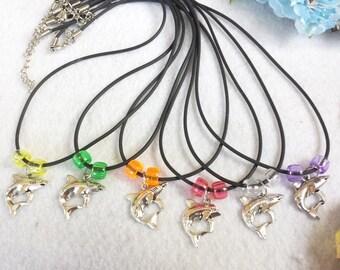 10 Shark Necklaces Party Favors