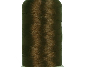 No. 405 (Chocolate) 1000m Polyester Spool of Embroidery Machine Thread