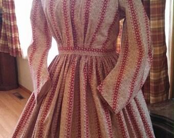 Custom made Civil War Dress YOU supply fabric(s)