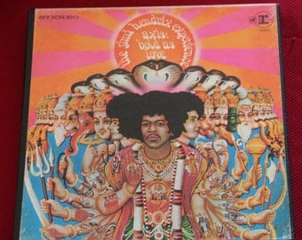 Jimi Hendrix AXIS BOLD As LOVE reel to reel tape 7.5 i.p,s. hi fi stereo