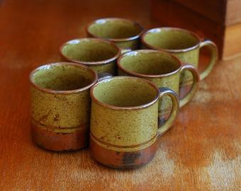 vintage otagiri japan coffee mugs