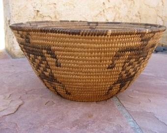 Vintage Figural Pima basket Circa 1920's
