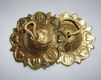 Brass Finger Cymbols Vintage From India