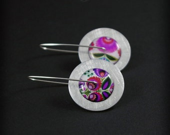Circles Classic Folk Barbie - earrings boho