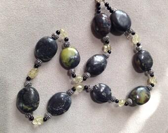 Gray Turquiose Necklace