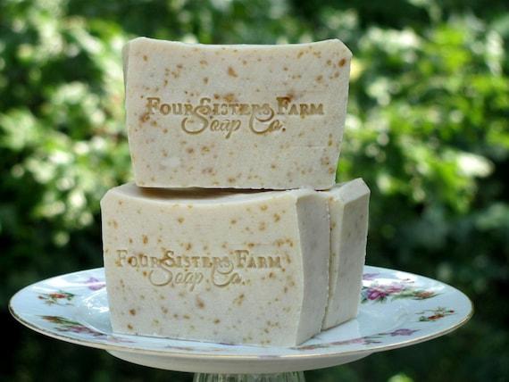 Tea tree Oatmeal Soap, Tea tree Soap, Rosemary Oatmeal Soap, Lemon ...