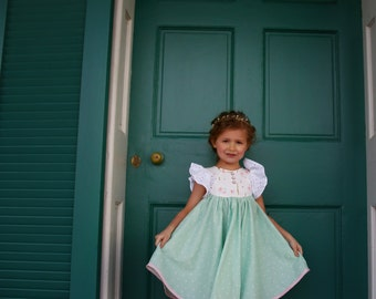 Lainey Dress and Top PDF Pattern & Tutorial, All sizes 2T-10 years included