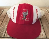 Vintage Truckers Hat from 1976 Alabama Crimson Tide Baseball Hat