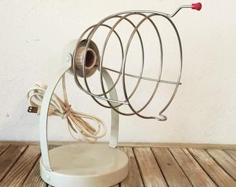 Industrial Bretford Wire Cage Light Fixture