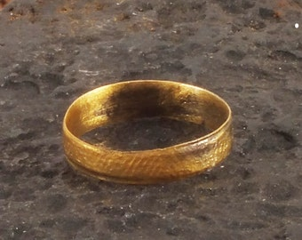 Ancient Viking   Wedding Band Jewelry C.866-1067A.D. Size 8 1/2  (18.3mm)(Brz116) Anniversary Ring