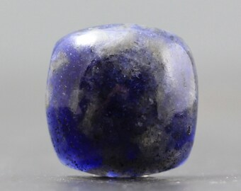 Sapphire Gemstone Cabochon - Precious Gemstone Cabochon Deep, Natural Blue Translucent Stone for Wire Wrap, Bezel Setting (CA5899)